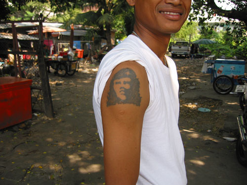 Thai Tattoo 2. Is this supposed to be Che or some Thai revolutionary who