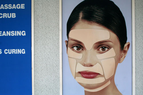Advertisement for a Cosmetic Clinic, Bangkok, Thailand.
