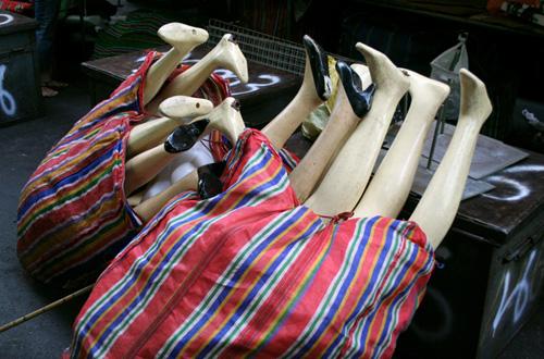 Mannequin legs, Patpong Market, Bangkok
