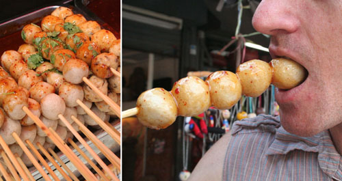 Fishballs, Chatuchak Weekend Market, Bangkok