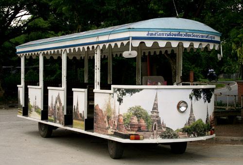 Ayutthaya Tram