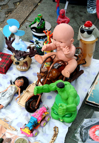 Toy market, Sanam Luang, Bangkok.